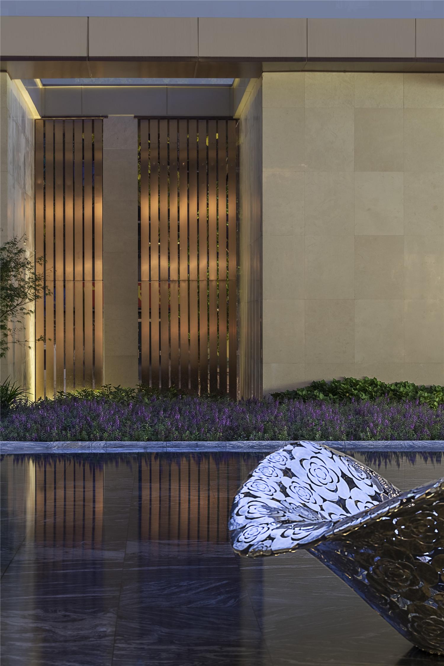 藏着数字的画_成都融信公馆-美尚奖项目展示-地产线-全球设计生活美学平台